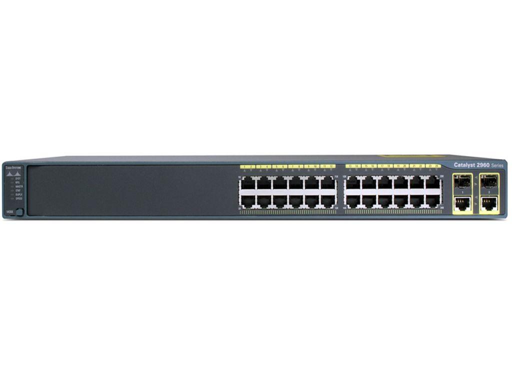 Коммутатор Cisco WS-C2960-24LC-L