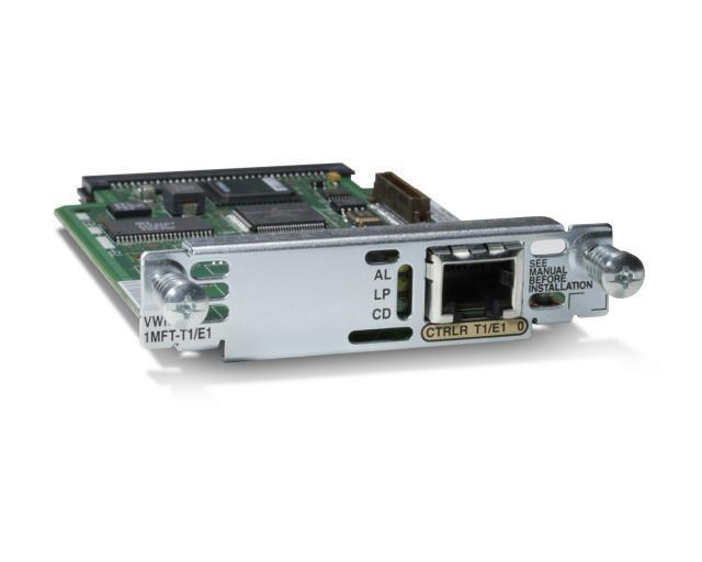 Модуль Cisco 1-Port RJ-48 Multiflex Trunk - G.703 VWIC-1MFT-G703=
