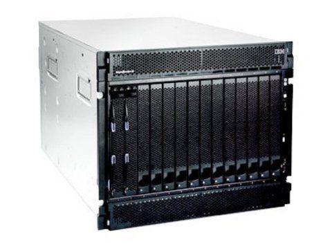 IBM eServer BladeCenter(tm) Chassis, Rack 7U, Max. Bays 14, no SAS (4up), 2x2320W PSU (4up) (86774TG)