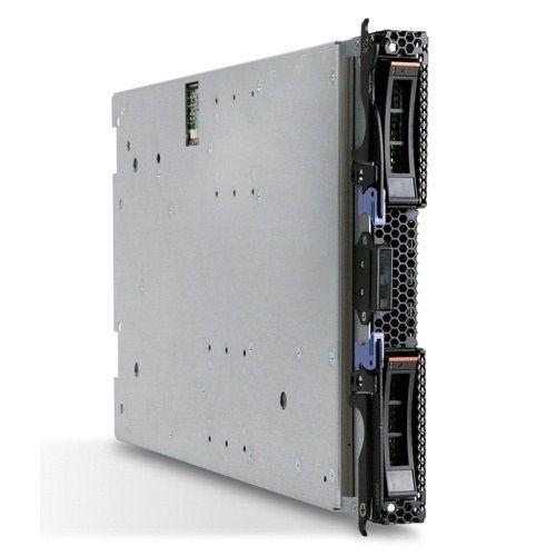 Сервер IBM HS22 (7870B3G) Xeon 4C E5530 80W 2.40GHz/1066MHz/8MB L2, 2x2GB, O/Bay 2.5in SATA/SAS