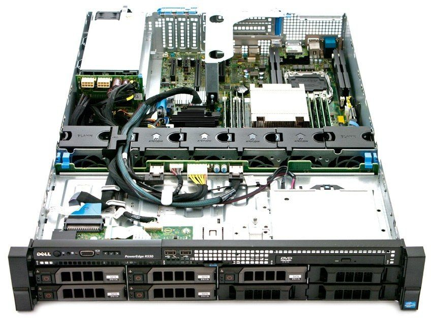������ Dell R530 E5-2683v3/64Gb DDR4/H730/2x750W