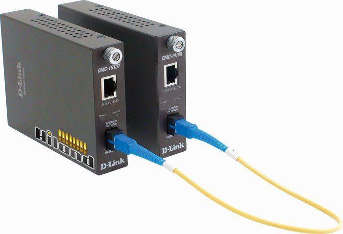 D-Link DMC-1910T Конвертер 1G UTP в 1G SM Single Fiber 15km, 1xSC , трансмиттер