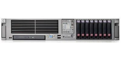 Сервер IV. HP Proliant DL380G5 Xenon 5160 (3.0GHz), 2GB (2*1GB) PC2-5300 FBD DDR2 667, SA P400/256MB (RAID 0/1/0+1/5), Dual NC373i