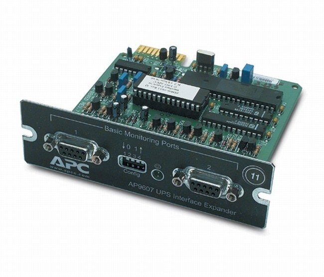 Модуль APC AP9607CB Interface Expander with 2 UPS Communication Cables SmartSlot Card AP9607