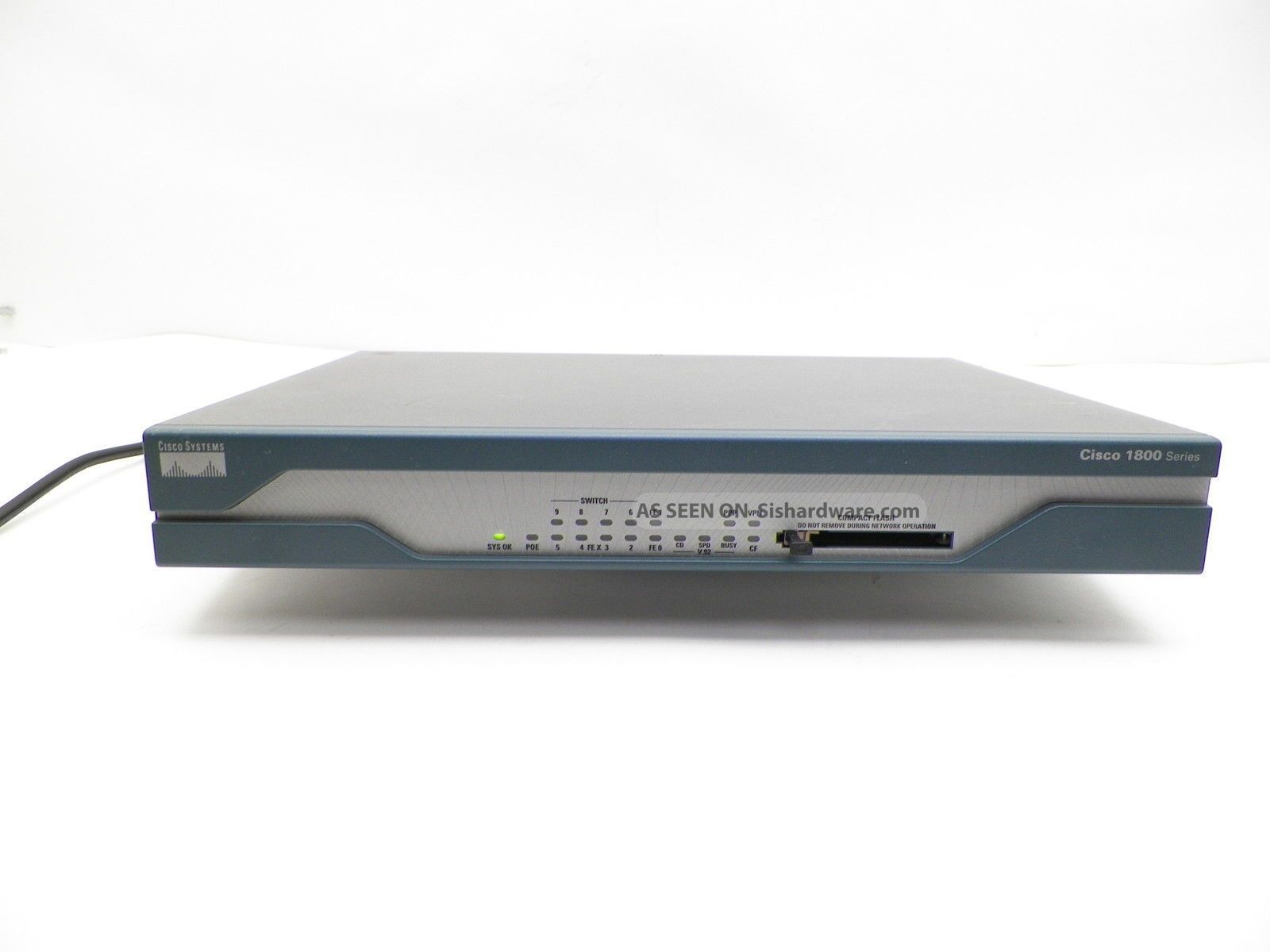 cisco router Buy refurbished cisco routers, switches & phones that help you build a quality technology infrastructure as a reseller, we have the best used & refurbished cisco gear for sale.