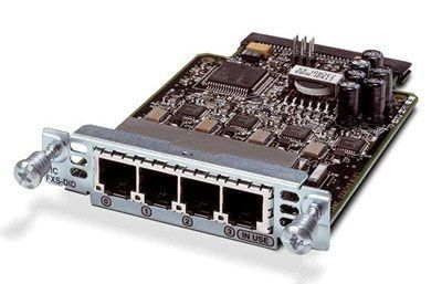 Модуль Cisco VIC3-4FXS/DID