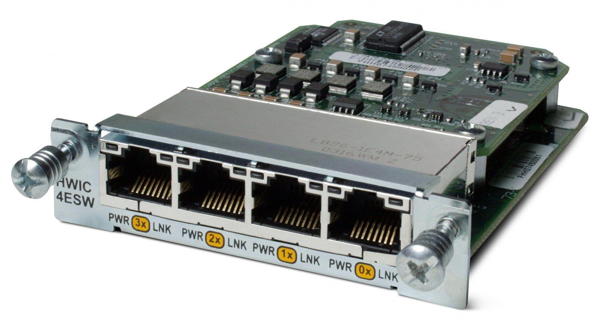 Модуль расширения Cisco WIC-4ESW