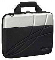 "Сумка для ноутбука 15""-16"" Slimline Fusion Notebook Case, Black & Silver"