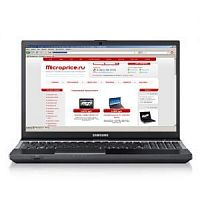 "Samsung 305V5A (A8 3530MX 1900 Mhz/15.6""/1366x768/6144Mb/500Gb/DVD-RW/Wi-Fi/Bluetooth/Win 7 HP)"