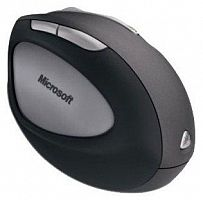 Microsoft Natural Wireless Laser Mouse 6000 Black-Grey USB
