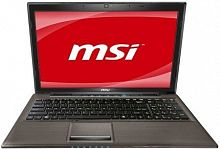 "MSI GE620DX (Core i3 2330M 2200 Mhz/15.6""/1366x768/8192Mb/500Gb/DVD-RW/Wi-Fi/Bluetooth/DOS)"