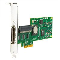 Single Channel Ultra320 SCSI Adapter (PCI-E x4, 1int, 1ext - All Srv/Wrst; for HP & Sony Tapes), incl. h/h & f/h. brckts