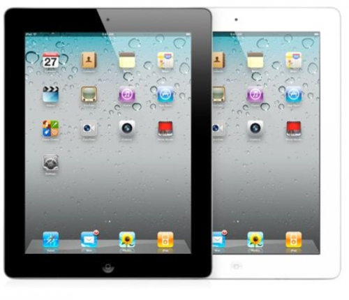 Apple iPad new 64Gb Wi-Fi + Cellular MD371RS/A вид спереди